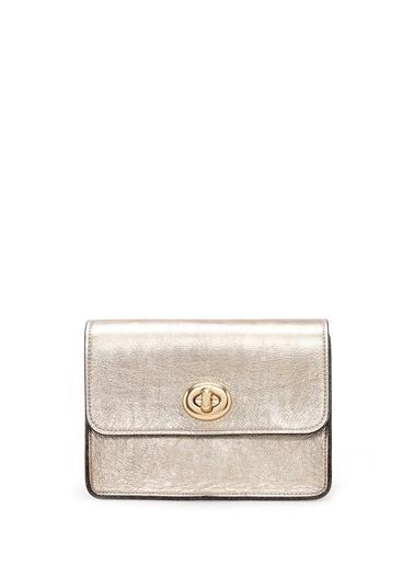 Coach Messenger / Askılı Çanta Altın